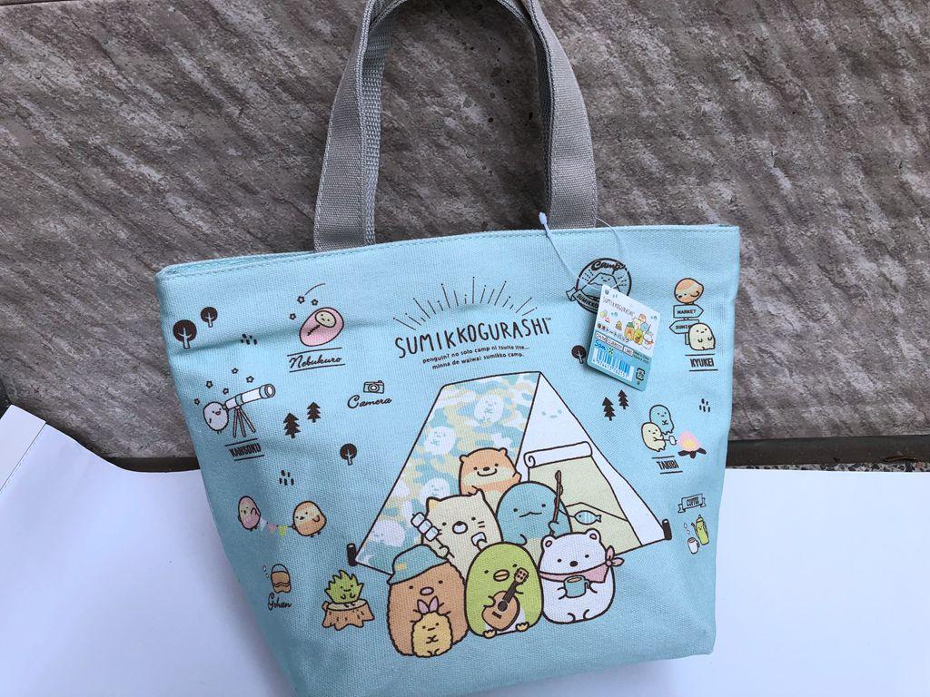 雍雅日式生活精品-日本 角落生物 角落小夥伴 保溫袋 保冷袋 外出袋 便當袋